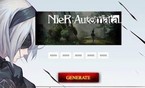 nier automata activation product key